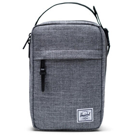 Herschel Chapter Connect Kit de Viaje, raven crosshatch